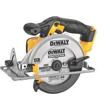 """New Dewalt 20 Volt Max Lithium Ion Cordless 6 1/2"""" Circular Saw Model # DCS393"""