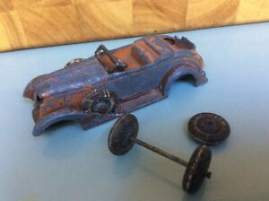 PRE-WAR 1930's TOOTSIETOY GRAHAM-PAIGE CONVERTIBLE FOR SPARES.