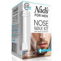 30g Nad's For Men Removal Nose Wax Kit Safetip Applicator Safe Quick & Easy NEW
