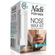 30g Nad's for Men Removal Nose Wax Kit Safetip Applicator Safe Quick & Easy