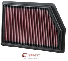 K&N Air Filter 2014-2016 JEEP CHEROKEE 3.2L / 2.4L / 2.0L * 33-5009 *