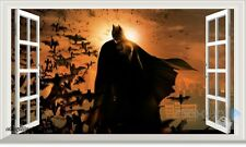 60X100cm Batman Super Hero 3D Window Wall Decals Removable Stickers Kids Decor