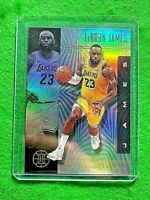 LEBRON JAMES PRIZM ILLUSIONS LOS ANGELES LAKERS 2019-20 ILLUSIONS BASKETBALL SP