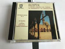 EGYPT SUFI MUSIC EGYPTE MUSIQUE SOUFI VOL 4 ARION - MINT CD - RARE 1992