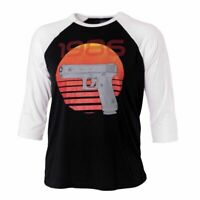 Glock RETRO 1986 Tee SHIRT 3/4 sleeve M - 3X-large AP95636 Cotton/Polyester