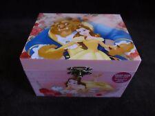 Disney Princess Belle Beauty & The Beast Jewelry Music Box ~NEW~