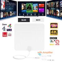 Signal antenne intérieur numérique antenne 1000 milles 4K HD TV amplifié Free LB