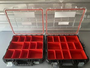 CRAFTSMAN VERSASTACK System 10-Compartment Plastic Small Parts Organizer
