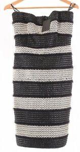 Black Halo NWT Sasha Cocktail Sheath Dress Size 12 in Black/White $545