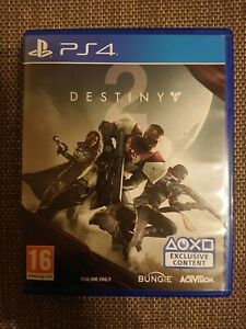 Destiny 2 Sony PlayStation 4 PS4 (will play on PlayStation 5 PS5)