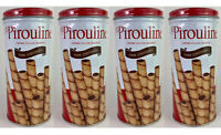 4 Pack Pirouline Creme Filled Wafers Dark Chocolate Rolled Snack - 3.25 Oz