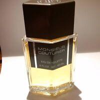 MONSIEUR COUTURIER 60 ML EAU DE TOILETTE!!!NOT VAPO!!!RARE AND VINTAGE!!