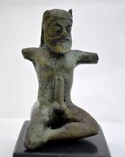 Bronze Statue of Satyr - Museum Replica Item - Ancient Greek Mythology-Satiros