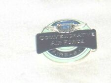 ES59* - COMMEMORATIVE AIR FORCE AIRBASE PIN, PIN BACK - CAF - CONFEDERATE