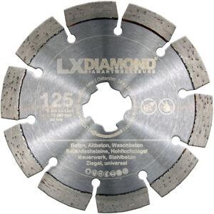 LXDIAMOND Diamant-Trennscheibe 125mm Beton Universal X-Lock passend für Bosch