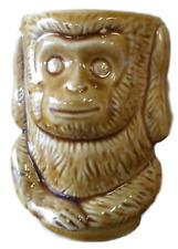 Vintage Ceramic Coffee Cup Mug Hear No Evil Monkey Made in Japan