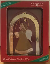 Forget Me Not Collectible Ornament Dear Daughter 1996