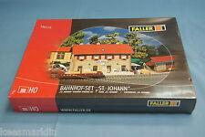 """Faller 190119 """"St-Johann"""" Railway Station Set    Kit   HO"""