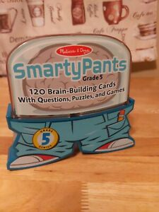 Melissa & Doug Smarty Pants 5th Grade Card Set - 120 Card Homeschooling System!