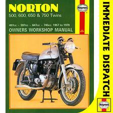 [0187] Norton 500 600 650 750 Twins 1957-1970 Haynes Workshop Manual