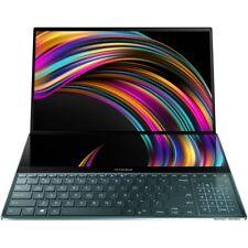 """ASUS - ZenBook Pro Duo 15.6"""" 4K Ultra HD Touch-Screen Laptop - Intel Core i9 ..."""