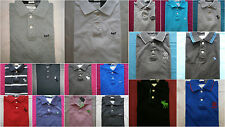 NWT Abercrombie & Fitch Rugby Polo T Shirt Mens Various Color Size S&M&L&XXL