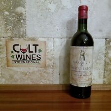 1956 Chateau Latour Bordeaux wine, Pauillac. The only one in the USA!