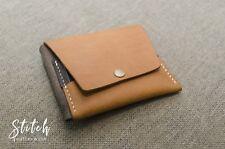 Half Wallet Crazy Horse Leather - Stitch Leatherwork