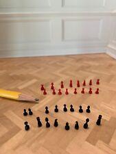 Dollhouse Miniature Bespaq Chess Pieces Set 1/12 scale