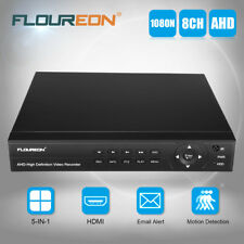 FLOUREON 8CH 1080P 1080N HDMI H.264 CCTV Security Video Recorder Cloud DVR US