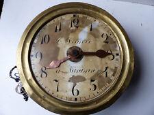 Mouvement horloge   foret noire H&W réveil matin XIXè Degreve à Nadrin Belgique