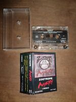 ZOETROPE AMNESTY 1985 Cassette Tape COMBAT RECORDS Thrash Heavy Metal Rock Music