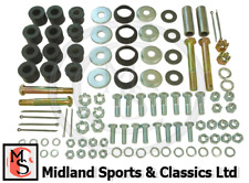 BEK541 - MGB FRONT SUSPENSION REBUILD KIT - ALL YEARS  BOLTS WASHERS BUSHES NUTS