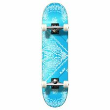 Yocaher Graphic Complete Skateboard - Bandana SkyBlue