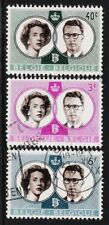 BELGIUM 1960 Old Stamps - King Baudouin & Queen Fabiola