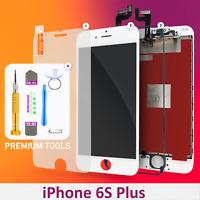 Display LCD für iPhone 6S PLUS RETINA Glas Bildschirm Scheibe 3D Touch WEISS