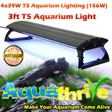 T5 Aquarium Lighting Unit 90cms 39W T5 globes x 4 Clearance Prices