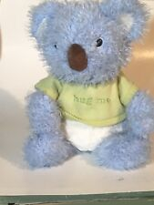 Hallmark Huggables   Blue Koala  Hug Me To Hear Me Talk AUSTRALIAN AUSSIE