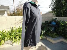 ICEBREAKER Terra Hooded, Hoodie Shirt Merino Wool, Half Zip Neck Women Size M