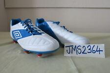 GEOMETRA PREMIER A-FG FOOTBALL BOOTS UMBRO WHITE BLUE US13 UK12 EUR47.5