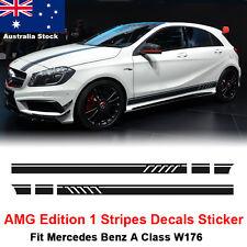 Edition 1 Stripe Decal Sticker Mercedes Benz A 45 180 200 250 W176 AMG Black