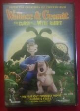 Wallace & Gromit: The Curse of the Were-Rabbit (Dvd, 2006, Full Screen)(Sealed)