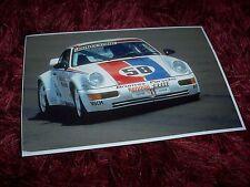 Photo / Photograph  PORSCHE 911 Turbo Hans Stuck Jr  1993 I.M.S.A. Supercar//