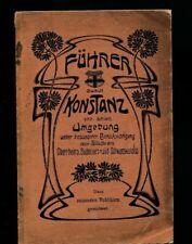Alter Reiseführer durch Konstanz und Umgebung von 1902  (LO3)