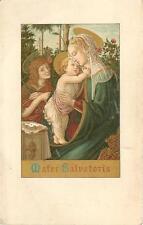 altes Andachtsbild Maria, Suzanne Viot 1905 Eglise Saint francois de Sales #E632