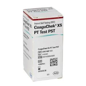 Roche CoaguChek XS PT Test PST Strips 24 pcs - 3 boxes - 72 pcs Exp.2209
