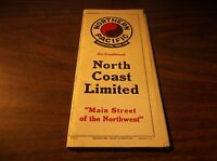 DECEMBER 1943 NP NORTHERN PACIFIC RAILROAD SYSTEM PUBLIC TIMETABLE SCARCE WWII