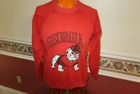 TEE JAYS UNIVERSITY OF Georgia Bulldogs Sweater Vintage Size LARGE MADE IN USA
