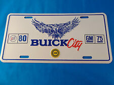 Buick City Front Plate 1983 Nice Riviera LeSabre Electra Regal Turbo 3.8 GN
