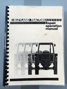 Leyland Tractors Workshop Manual Very Very Large Book Super Detailed